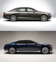 Bentley Flying Spur, Ford, Lincoln Continental Concept