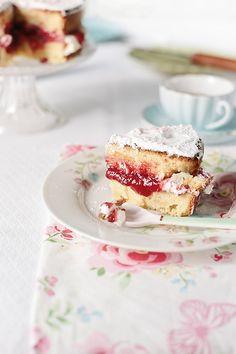 Receta de Victoria sponge cake