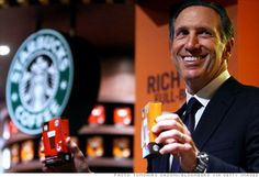 Howard Schultz talks about turning Starbucks around, providing benefits, and why a store will never kick out a paying customer. Howard Schultz, Starbucks, Good People, Health Care, Felt, Drop, Coffee, Contemporary, Awesome