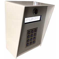 Access Surface Larm Keypad Outdoor Enforcer Control Seco Mount CrdBoxEQWe