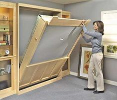 murphy bed  plan - build a murphy bed