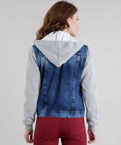 7bec462b7 Jaqueta-Jeans-com-Moletom-Azul-Medio-8611364-Azul Medio 2