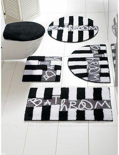 heine home - Badgarnitur schwarz/weiß im Heine Online-Shop kaufen