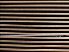 Lambris mural design et panneaux d co en lamelles de bois id es pour la maison pinterest - Plafond suspendu insonorisant ...