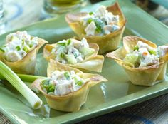 Guests at your next gathering will love these appetizers featuring the heat of onions, jalapeño peppers and hot sauce, plus the coolness of Marzetti® Ranch Veggie Dip.