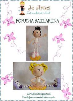 Fofuchas Eva e Cia: Fofucha Bailarina