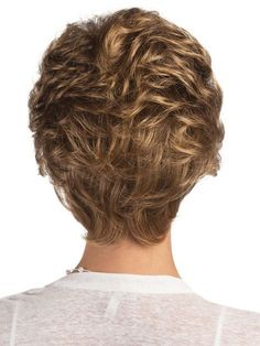 Hallie by Estetica - Beautiful Short Curly Haircuts - Blonde