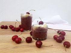 Red velvet en vasito, saludable y delicioso ¡No se puede pedir más! Yo te doy a receta Cherry, Fruit, Food, Spanish Desserts, Puddings, Pastries Recipes, Best Recipes, Oven, Healthy
