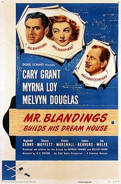 Mr Blandings Builds His Dream House - 1948 - Movie Poster