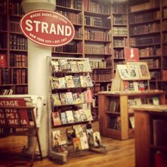 Strand Bookstore - A Book lover's heaven, but holy crap is it crowded! I actually really enjoyed the rare book room on the third floor, not just because I found a gorgeously illuminated copy of the Rubayyat, but also because I could sit/breath