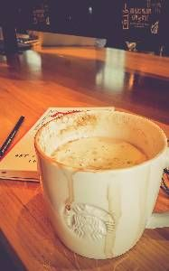 Coffee at Starbucks. Fondue, Starbucks, Cheese, Coffee, Ethnic Recipes, Kaffee, Cup Of Coffee
