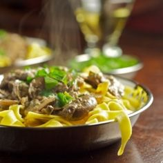 All you need are fresh cremini and dried porcini mushrooms to have a flavor-packed dish.