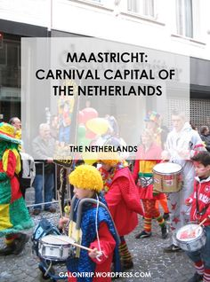 Maastricht Carnival is a carnival to celebrate the last day of eating and drinking fancily before the 40 days of fasting until Easter. It officially starts from Sunday (unofficially Saturday) to Tuesday before Ash Wednesday. In other words, It's the Dutch version of Mardi Gras in Limburg province!