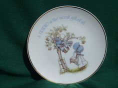 LASTING MEMORIES Collectors Plate Holly Hobby by EauPleineVintage, $6.50