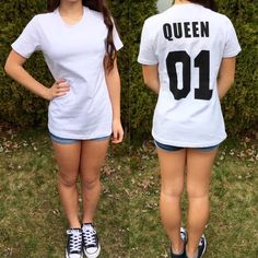 Make+a+fashion+statement+in+this+fab+Queen+Top! -- Spring Summer Fall Winter Fashion. www.psiloveyoumoreboutique.com
