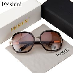 $7.92 (Buy here: https://alitems.com/g/1e8d114494ebda23ff8b16525dc3e8/?i=5&ulp=https%3A%2F%2Fwww.aliexpress.com%2Fitem%2F2013-NEW-B-8-elegant-fashion-quality-women-s-sun-glasses-large-UV400CE-WOMEN-sunglasses%2F794651799.html ) FEISHINI Elegant Fashion High Quality Glasses UVB Good Fatigue Resistance Sunglasses Women Brand Designers Vintage Oval 2017 for just $7.92