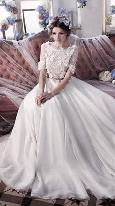 Wedding - #wedding #modestweddingdresses