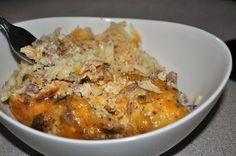 CrockPot sausage and hashbrowns breakfast casserole