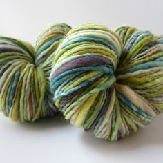 Handspun Yarn Meirno Wool Single Ply 220 Yards/4oz by OnTheRound, $28.00