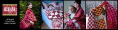 Warm and cosy Oleana blankets, 200 x 135cm! www.kompaniet.fi