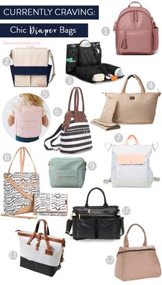 Team LC approved diaper bags for any mama