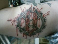 Mountain Miscreants tattoo designed by Hooligan Kustom, done by Working Class Ink