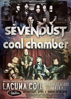 sevendust in wichita ks tour 2013 | Sevendust – Tickets – The Cotillion Ballroom – Wichita, KS ...