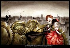 By Benjamin Lacombe from The Boy with the Cuckoo Clock Heart
