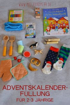 DIY advent calendar for two year olds - Advent calendar for toddlers: meaningful, long-lasting filling ideas for year olds – without - 3d Christmas, Toddler Christmas, Christmas Decorations, Xmas, Advent Calendar For Toddlers, Diy Advent Calendar, Easy Crochet, Crochet Hooks, Credenza Decor