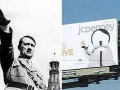 JCPenney teapot looks like Hitler