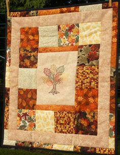 "Colleen's Store ""Signs of Autumn"" Love this Table Topper"