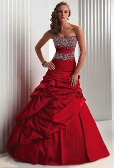 Red Wedding Dresses | http://simpleweddingstuff.blogspot.com/2014/05/red-wedding-dresses.html