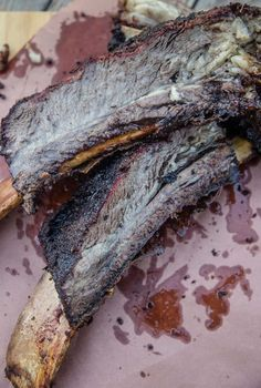 How to smoke the most incredible beef ribs. Smoked Beef Plate Ribs are rich, tender, and melt in your mouth like butter. Beef Plate Ribs, Beef Back Ribs, Beef Ribs, Bbq Beef, Barbecue Grill, Smoked Beef Short Ribs, Rib Recipes, Smoker Recipes, Mini Croissants