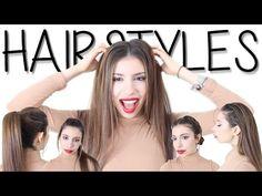 Easy GREASY Hairstyle Hacks YOU Can Do! - YouTube