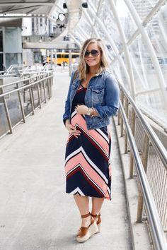 Target Slip Dress - Maternity Style- Maternity Fashion - Target Does it Again - Madewell Denim - See Eyewear