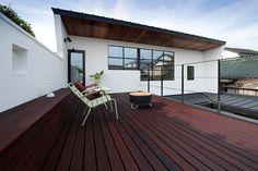 Sakurayama-Architect-Design의  발코니, 베란다 & 테라스