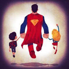 Les héros de DC Comics emmènent leurs enfants à l'école