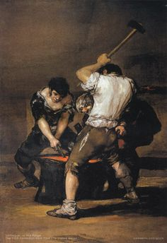Francisco de Goya y Lucientes painting at the Frick