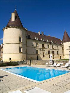 Château de Chailly: château hôtel 4 étoiles près de Dijon,Beaune en Bourgogne - Points positifs : hostellerie de luxe en pleine campagne avec tous les services d'un 4 étoiles; golf 18 trous