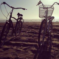 Paseo a la playa en bici <3
