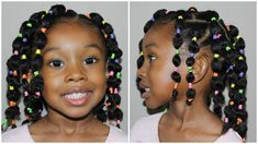 natural hairstyles Here are 20 hairstyles for you to give to your little girl braids that she will just love you for. Twisted Braided Ponytail has your daughters hair split into Lil Girl Hairstyles, Girls Natural Hairstyles, Natural Hairstyles For Kids, Kids Braided Hairstyles, Toddler Hairstyles, Teenage Hairstyles, Kids Natural Hair, Vintage Hairstyles, Bubble Ponytail