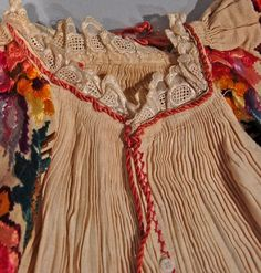 Made in: ZagrebSava valley, south east of Zagreb, around the town of Petrinja Folk Costume, Costumes, Heartstrings, Croatia, Folk Art, How To Make, How To Wear, Delicate, Traditional
