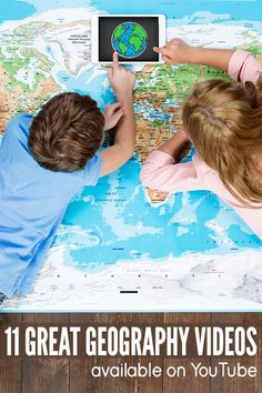 11 Geography Videos for Kids: Learn About Globes, Maps, Continents & Geography For Kids, Teaching Geography, Learning Activities, Kids Learning, Activities For Kids, Map Skills, Continents, Homeschool, Explore