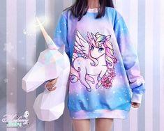 Teens Clothing – New Look Clothing Pastel Goth Fashion, Kawaii Fashion, Outfits For Teens, Cool Outfits, Estilo Harajuku, Mode Lolita, Estilo Lolita, Mode Chanel, Cute Unicorn