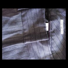 Halogen women's brown pinstripe trousers Never fit me right think I wore these once. Great for pumps or flats! Nice hue of tan/brown Halogen Pants Trousers