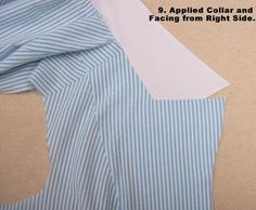 Off The Cuff Style ~ ~: Sewing Patterns calientes del collar / Tutorial solapa, Parte 2