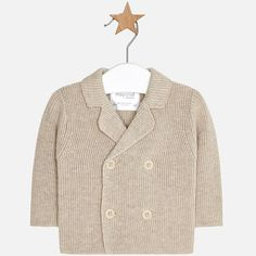 f3dbad7ada 2432 Mayoral Baby Double Breasted Knit Cardigan - Oatmeal Knit Cardigan