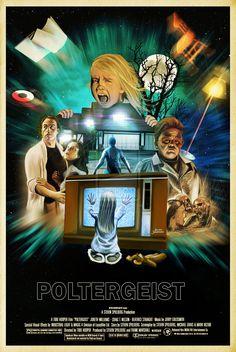 """POLTERGEIST"" (1982), poster art by Jairo Guerrero"