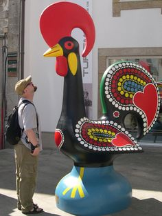 galo de barcelos vs man