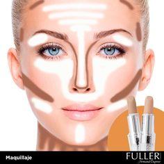 El secreto de los profesionales para destacar el rostro, es el uso adecuado de correctores faciales.